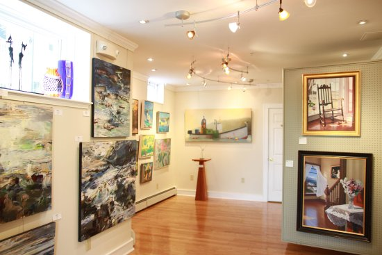 Kennebunk, ME: Sculpture and Paintings