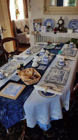 Carrigans, Ireland: Tavolo colazione/Breakfast table
