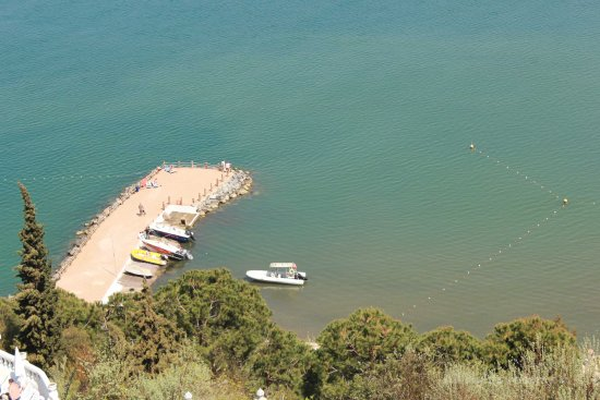 Labranda Ephesus Princess: Vista al puerto en la playa