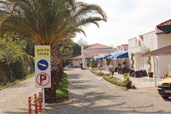 Labranda Ephesus Princess: Entrada principal del hotel
