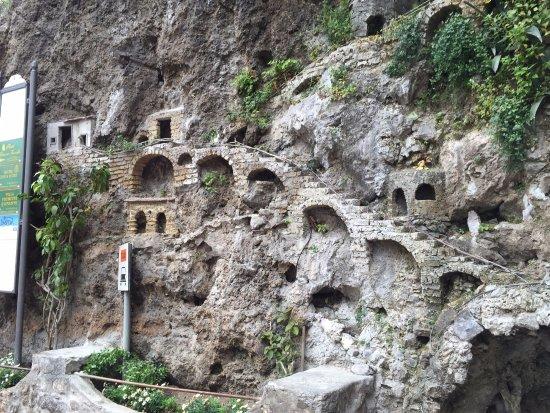 Grotta di Fornillo: impresionantes los detalles