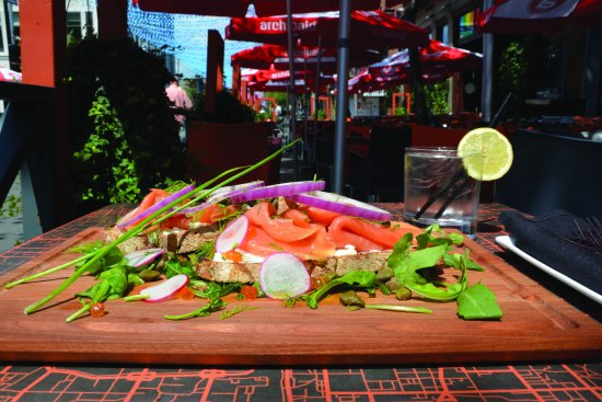 Montreal, Canadá: Salmon tartine