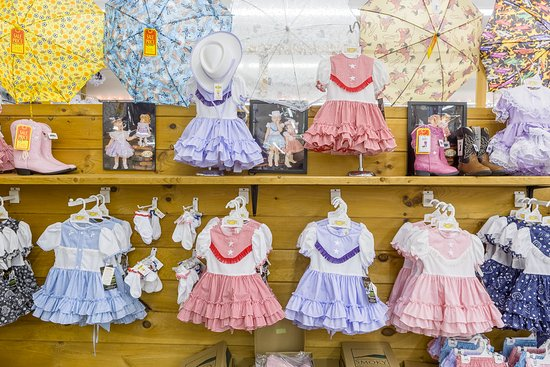 4fbc93f7c2945 Lidl Dollys Factory Store: Great Selection of girls western dresses
