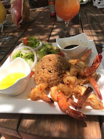 Five Cays Settlement, Providenciales: Excelente restaurante, fomos muito bem atendidos por Luis.