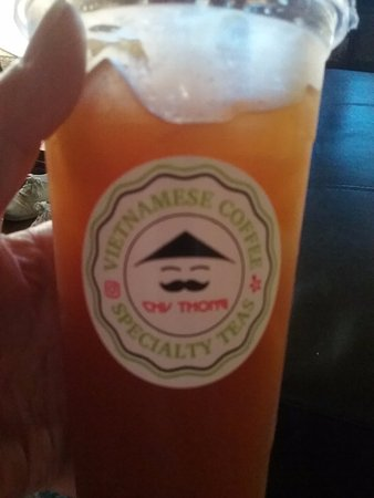Gardena, CA: Mango Orange Peach Lemonade