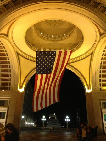 Boston Harbor Hotel: Patriotic!
