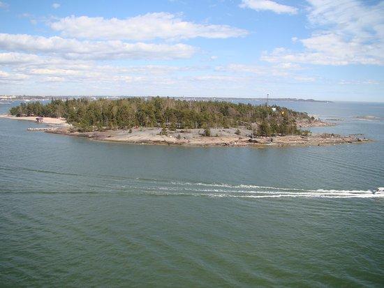 Pihlajasaari Recreational Park: vista do navio
