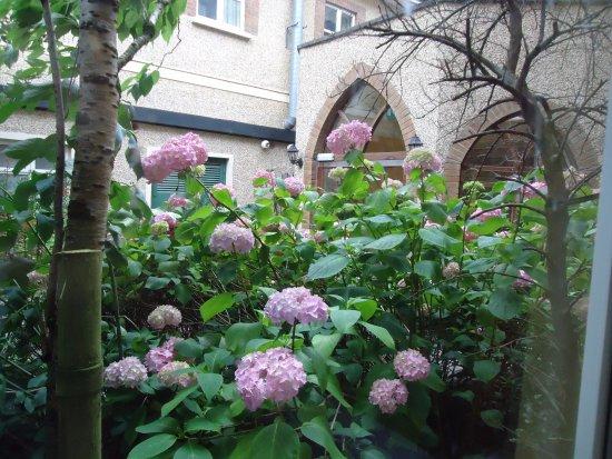 Nenagh, Irland: Uitzicht van het raam