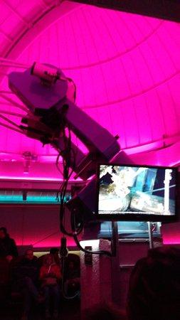 Notre Dame des Bois, Canada: Petit télescope de l'astrolab