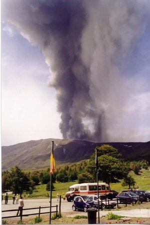 Linguaglossa, Italia: Piano Provenzana prima dell'eruzione del 2002