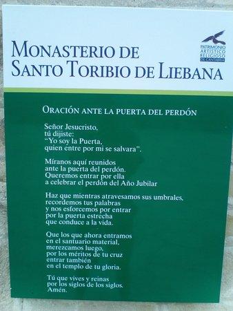 Cantabria, España: Oración jubileo.