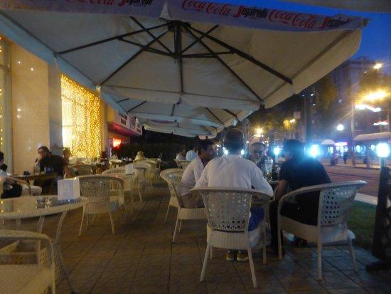 Segafredo Zanetti Espresso Dushanbe : outdoor seating