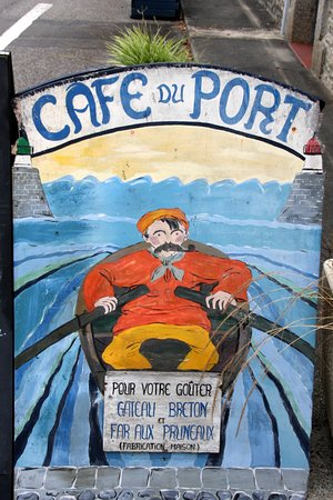 La Foret-Fouesnant, France: Cafe du Port