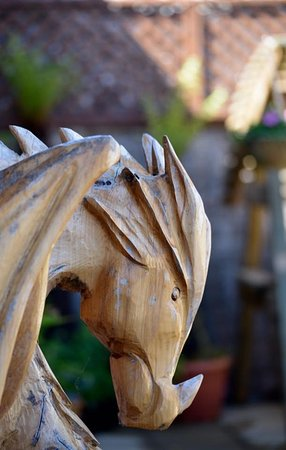 Newborough, UK: The dragon