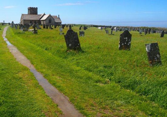 Pendoggett, UK: Church near Tintagel