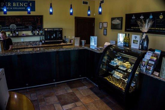 Пентиктон, Канада: UPPER BENCH WINERY AND CREAMERY