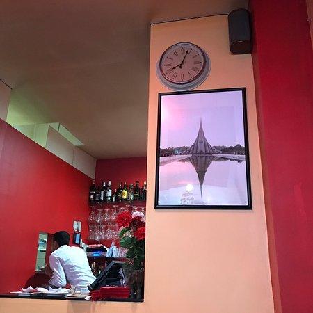 Restaurant indien avec faible niveau