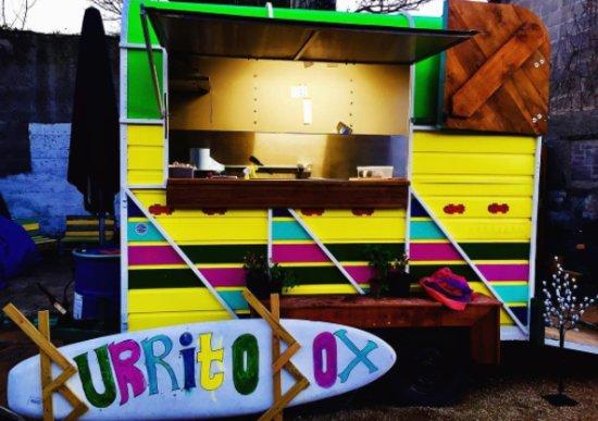 Greystones, ไอร์แลนด์: Burrito box