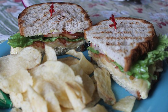 Kodiak, AK: Tuna Splash on Gluten Free bread