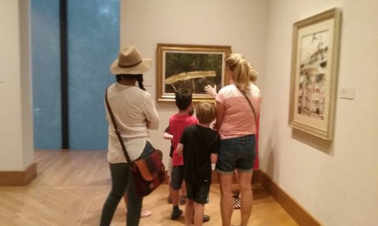 Chadds Ford, Pensilvania: Taking in the art!