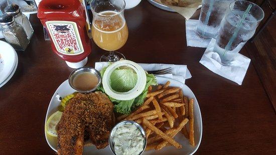 Royal Oak, MI: Fish and Crack Chips (Fries)