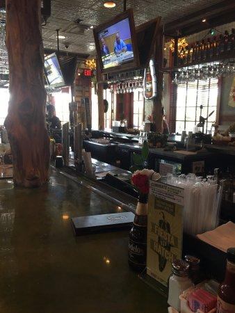 Cypress, TX: bar area