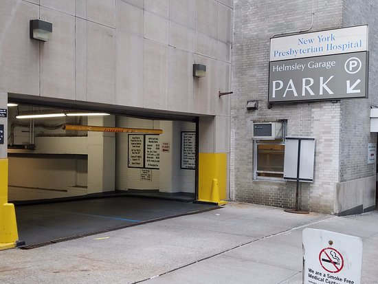 New York Presbyterian Guest Facility: Parking