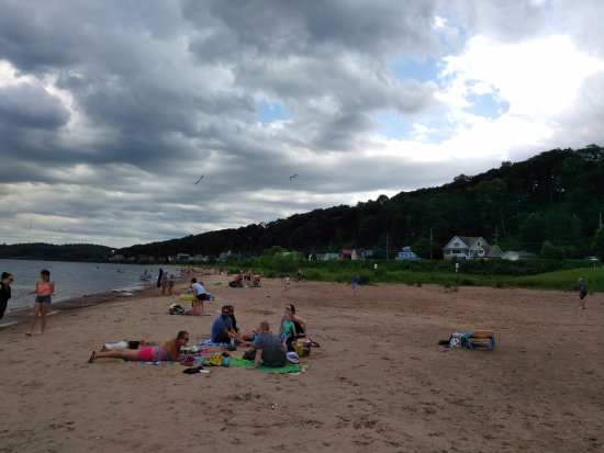 Marquette, MI: Lower Harbor Beach