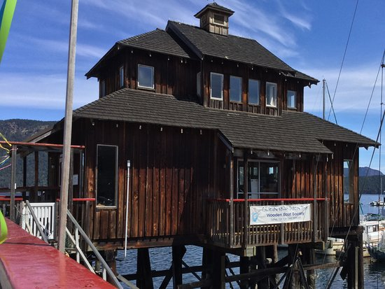 Cowichan Bay, Canada: Museum of boat models.
