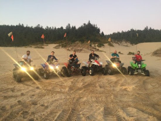 Winchester Bay, OR: Awesome selection of ATV's and RZR's!