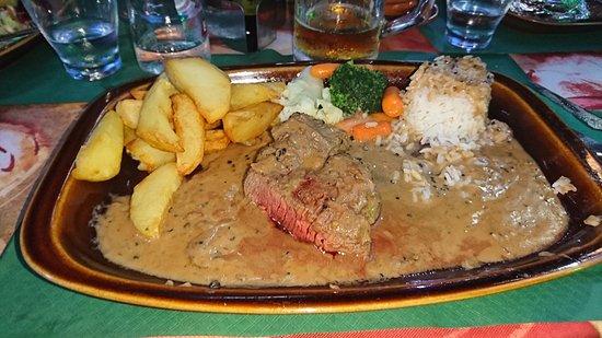 Muro, Spain: Steak
