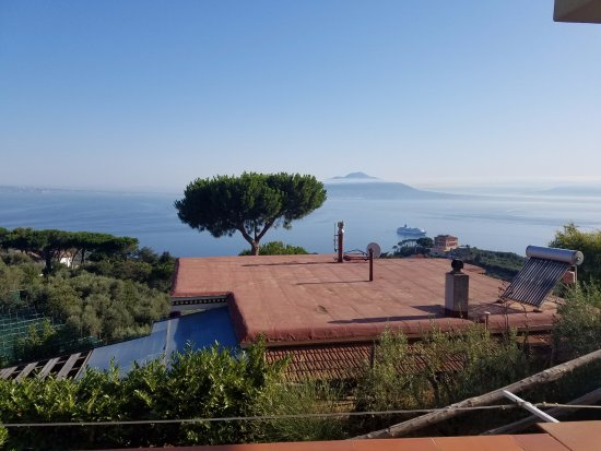 Il Nido Hotel Sorrento: View from 120
