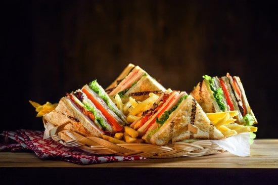 Stavroupoli, Greece: club sandwich