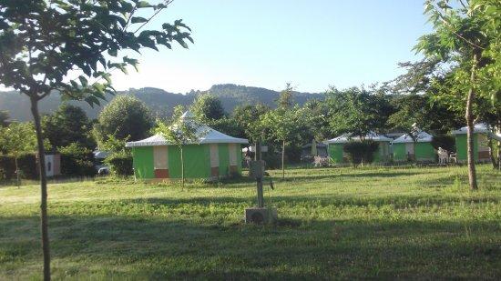 Argentat, Francia: vue du camping