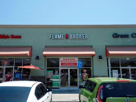 Monrovia, Californië: Flame Broiler