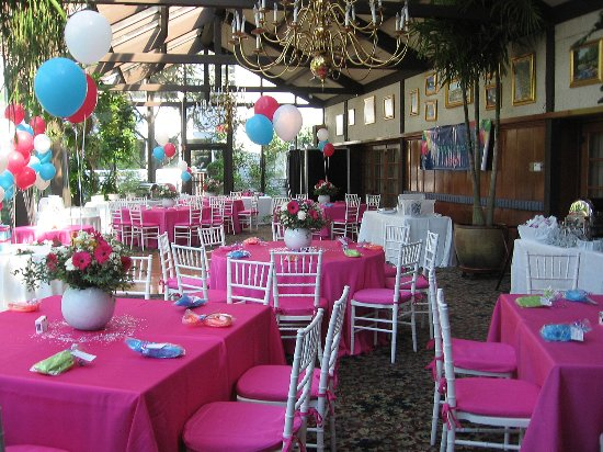 Dan'l Webster Inn & Spa: Sweet 16 Birthday party in the Conservatory