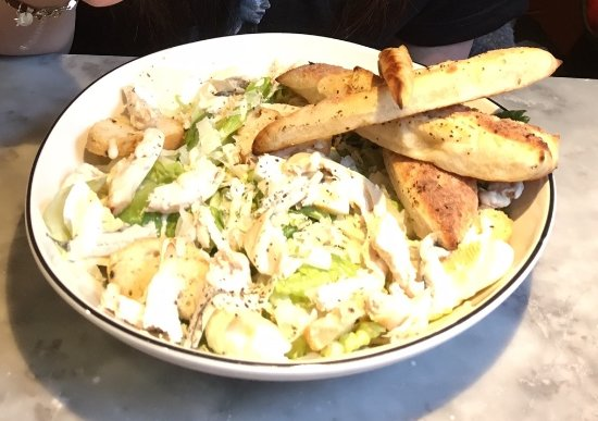 Chicken Ceasar Salad Picture Of Pizza Express Northampton