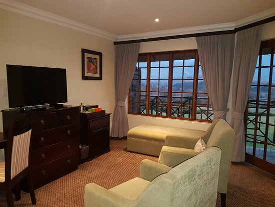 Winterton, South Africa: Bedroom lounge area