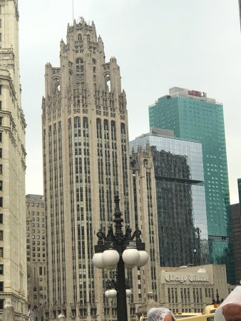Tribune Tower - シカゴ、トリビ...