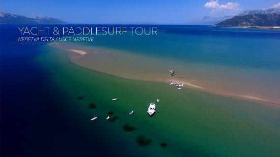 Ploce, Croatia: YACHT & SUP TOUR