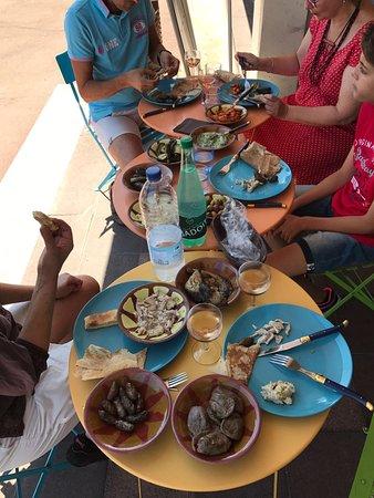 Chatenay-Malabry, Fransa: Brunch Libanais