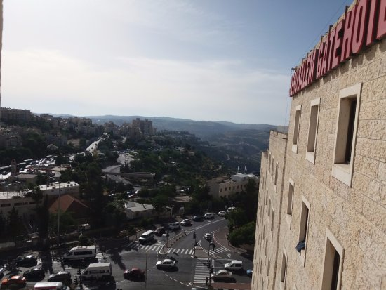 Jerusalem Gate Hotel: view