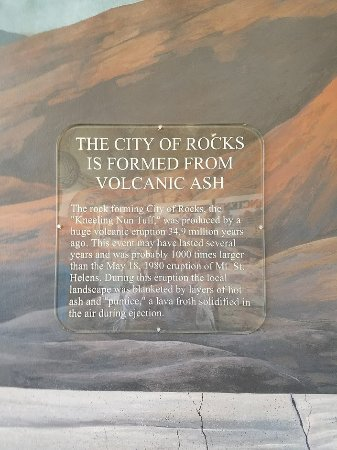 City of Rocks State Park: Formed from Volcanic Ash