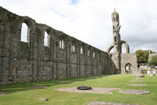 St Andrews Cathedral: Side and Tower