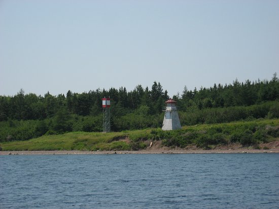 St. Peter's, Canada: Cape George Lighthouse near St. Peters NS