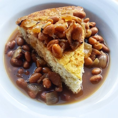 Whitesburg, KY: Soup Beans and Cornbread, a local favorite (special only)