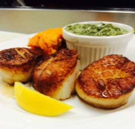 Ocean View, DE: Pan Seared Day Boat Scallops