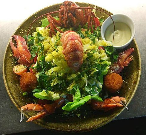 Bilzen, Bélgica: Salade kreeft belle vue ~ Padam Style ~