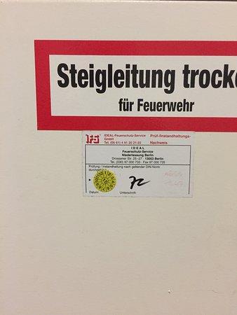 ibis Budget Berlin Ost: Das soll einem Sicherheit geben ich finde nicht