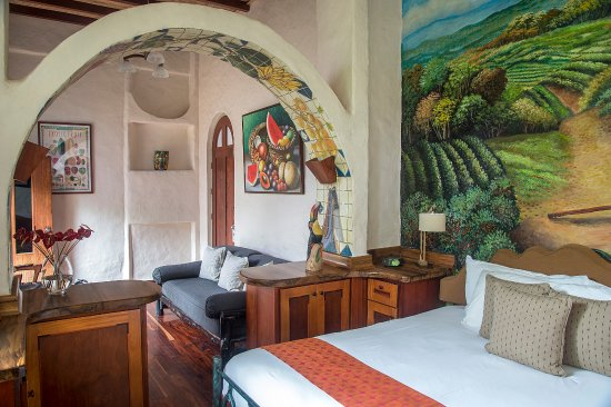 Santa Barbara, Kosta Rika: Every room is completely different and with its own unique designs